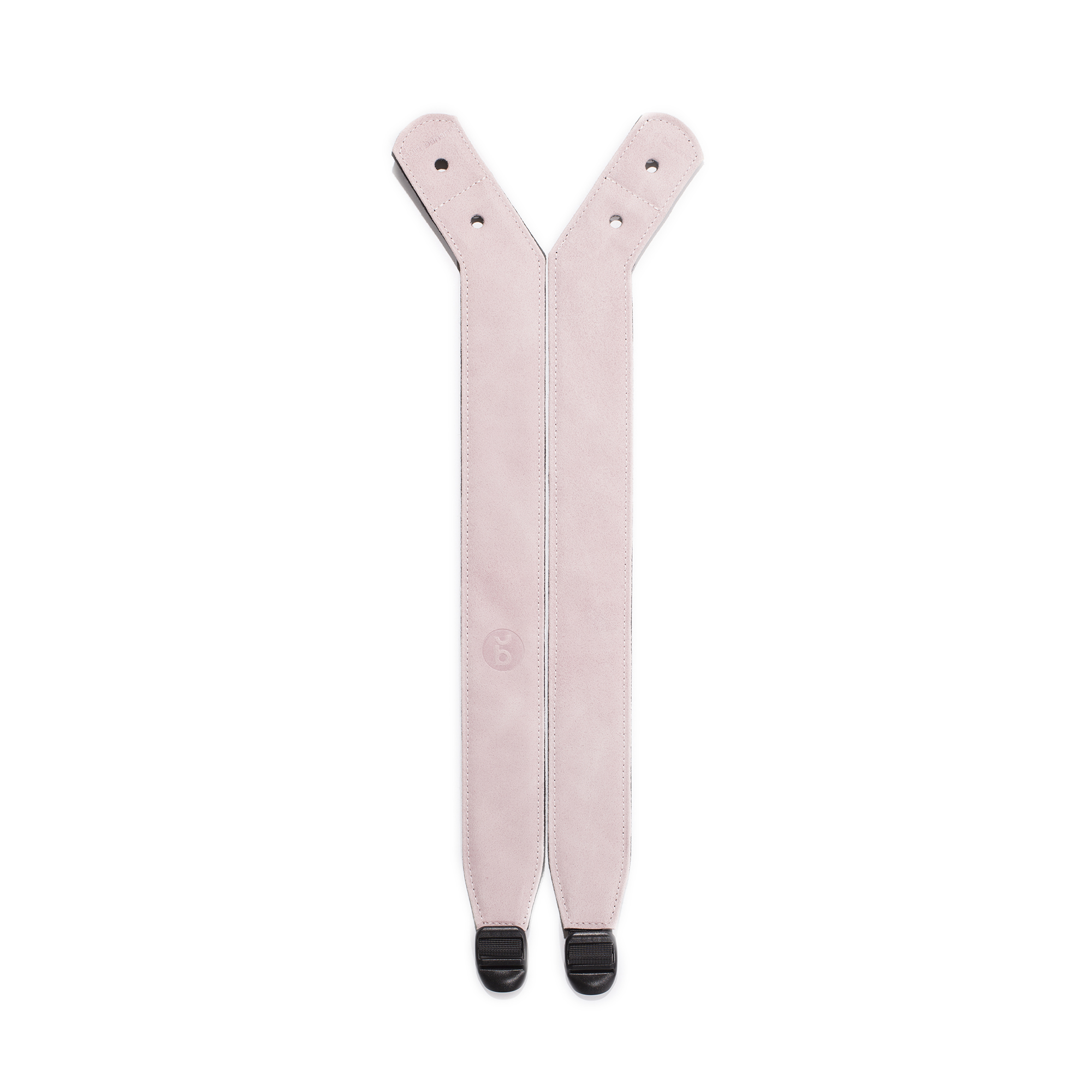 Pinkechter ledervilt aan de achterzijde voor draagcomforteenvoudig verstelbaar